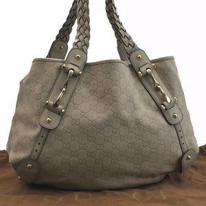 💎LARGE💎 LEATHER GUCCI TOTE